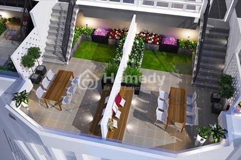 Cho thuê căn hộ thông minh Monarchy 2 phòng ngủ, có sân vườn