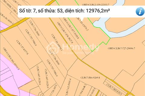 Bán đất nông nghiệp rộng 30 ha ngay sát thị trấn Trảng Bom