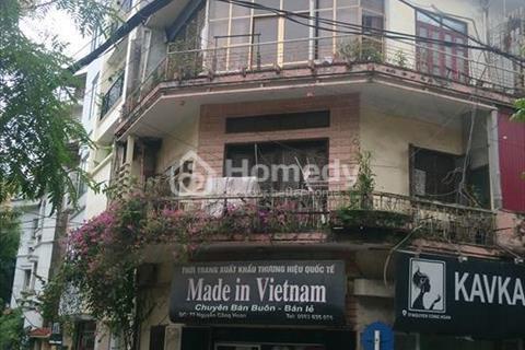 Bán nhà mặt phố Nguyễn Công Hoan, Ba Đình, sổ đỏ, 43 m2, 3 tầng mặt tiền 4 m, 12,5 tỷ
