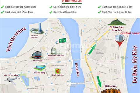 Căn hộ Central Coast xứng đáng là sự lựa chọn số 1, khi mua căn hộ mặt tiền biển tại Đà Nẵng