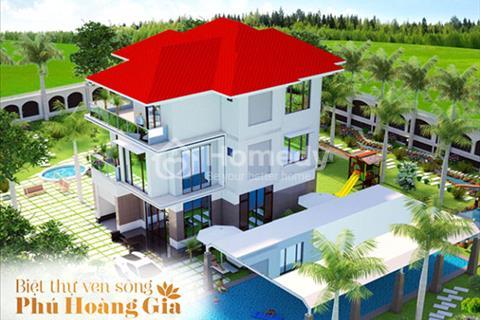 Chính thức mở bán 39 nền duy nhất khu biệt thự ven sông Phú Hoàng Gia