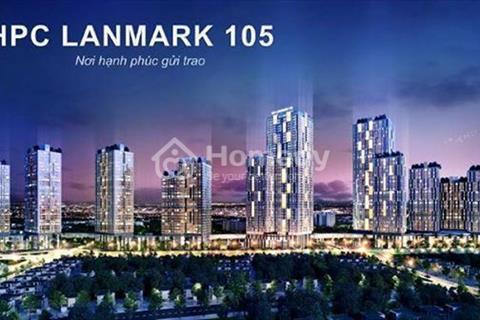 Trung tâm thương mại HPC Landmark  cho thuê mặt bằng thô với giá hấp dẫn