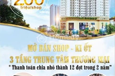 Bán Shop Sài Gòn Square Tại Quận 7- Giá 200 triệu/shop LH O977208007
