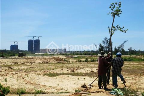 Bán đất bên khu đô thị FPT, mặt tiền sông Cổ Cò Đà Nẵng, giá: 3,9-5,5tr/m2. Diện tích từ 90-300m2