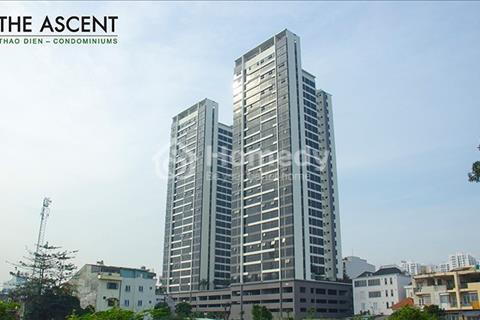 Cần bán gấp căn hộ cao cấp The Ascent, 104 m2 - 3 phòng ngủ, view sông Sài Gòn, giá tốt 4 tỷ