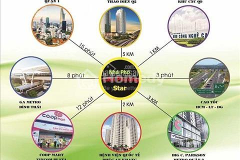 Bán gấp nhà phố liên kề khu đô thị mới quận 9 vị trí đẹp giá rẻ diện tích 175 m2 khu compound