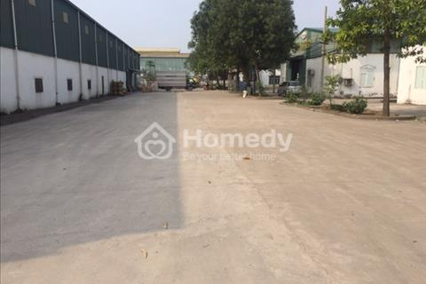 Cho thuê kho xưởng diện tích 500 m2 khu công nghiệp Lai Xá Hoài Đức Hà Nội