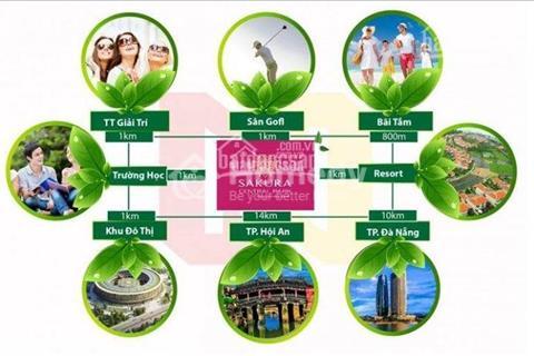 Đất liền kề Cocobay nam Đà Nẵng giá đầu tư vị trí đẹp
