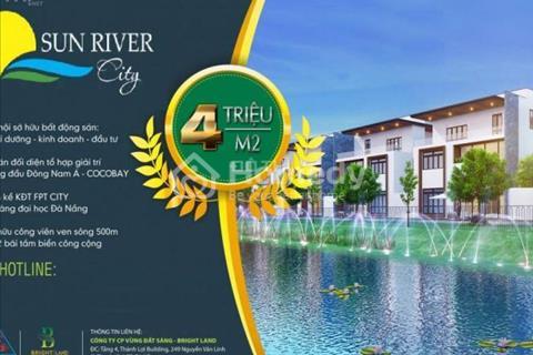 Chỉ từ 450 triệu sở hữu ngay đất biệt thự view sông duy nhất tại Đà Nẵng