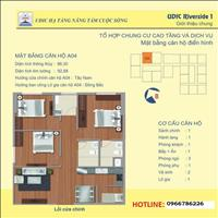 Chủ nhà bán căn A04 (88 m2) view sông chung cư 122 Vĩnh Tuy cực rẻ