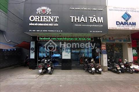 Cho thuê nhà 2 mặt tiền Lê Hồng Phong, Phường 12, Quận 10