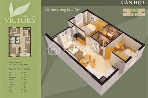 Bán chung cư Thăng Long, An Khánh, diện tích 59,8 m2, giá 850 triệu