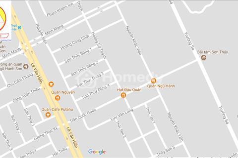 Bán 1 cặp 200 m2 đất đường Nguyễn Cơ Thạch, Đà Nẵng B2.7. Giá 5,7 tỷ hướng Đông