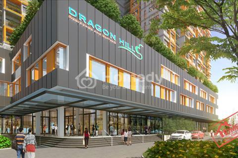 Cho thuê căn hộ Dragon Hill 2 phòng ngủ, 8 triệu/tháng