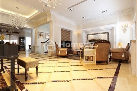 Cho thuê biệt thự 261 m2, lô góc 5 tầng, khu Mỹ Đình