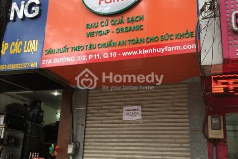 Cho thuê nhà mặt tiền Vườn Chuối, Phường 04, Quận 03, Hồ Chí Minh