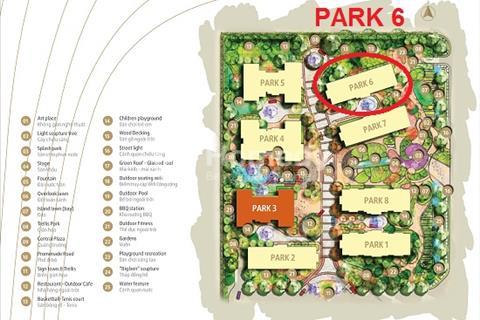 Chính chủ bán cắt lỗ căn số 05 tòa Park 6, diện tích 144 m2, hướng đông nam, Vinhomes Times City