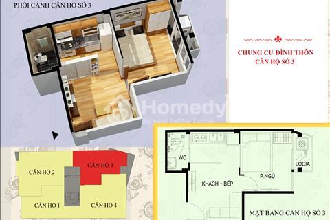 Chủ đầu tư mở bán chung cư Đình Thôn - Mỹ Đình từ 25 - 50 m2 giá từ 500 triệu hoàn thiện nội thất