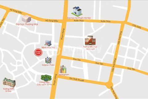 Sở hữu căn hộ gần sân vận động Mỹ Đình, diện tích 60 m2, giá 1,07 tỷ, full nội thất