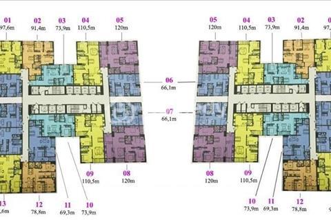 Chính chủ bán chung cư Imperia Garden, diện tích 66,1 m2, căn 1806, B-29T, giá lỗ 2,4 tỷ