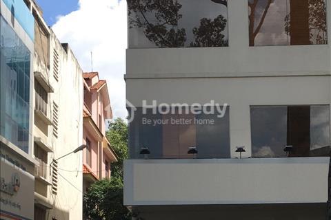 Cho thuê nhà 2 mặt tiền Cao Thắng, Phường 4, Quận 3 (mặt tiền + Hẻm 3 m), 8x20 m, 1 trệt, 6 lầu