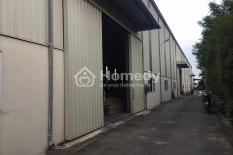 Cho thuê kho xưởng diện tích 2.300 m2 khu công nghiệp Thạch Thất, Quốc Oai, Hà Nội