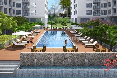 Cho thuê căn hộ chung cư Sky Center - Phổ Quang, Tân Bình. Gần sân bay và công viên