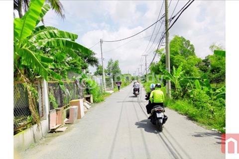 Bán gấp lô đất, lô góc 2 mặt tiền đường. Nằm trên đường Lê Văn Lương - Nguyễn Bình