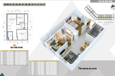Bán căn hộ view trực diện bể bơi tầng 11 tòa L 58 m2 giá 1,009 tỷ