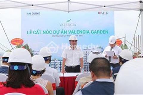 Chỉ 250 triệu sở hữu ngay dự án Valencia Garden liền kề Vinhome Riverside, giá từ 19tr CK3%, LS 0%