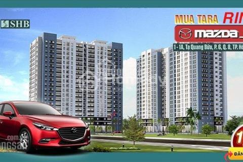 Tặng ngay xe tay ga khi mua Tara Residence mặt tiền quận 8 - 1,3 tỷ/căn - Đầy đủ tiện ích