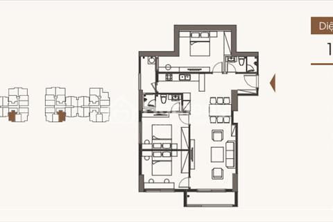 Bán chung cư Five Star Kim Giang, 104,71 m2, tầng 1808, G1, giá 23 triệu/ m2