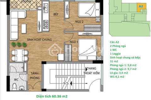 Chính chủ bán gấp căn 06 tòa A, dự án Valencia Garden
