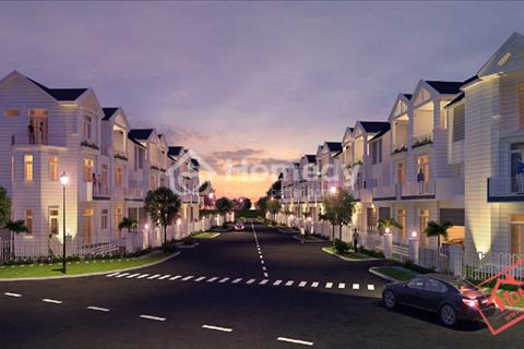 Cho thuê nhà phố Merita Khang Điền 1 trệt 2 lầu cao cấp full nội thất, đầy đủ tiện nghi,view hồ bơi