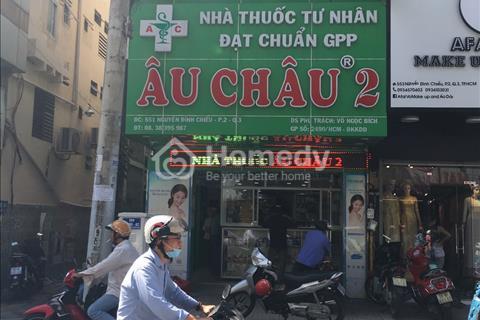 Cho thuê nhà mặt tiền đường Trần Hưng Đạo, Phường Nguyễn Cư Trinh, Quận 1