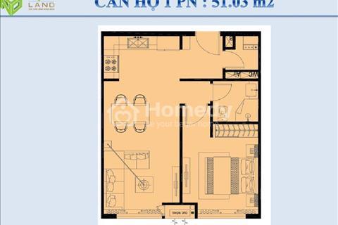 Bán căn hộ 1 phòng ngủ 51 m2, giá 2,25 tỷ nhà thô tại Orchard Garden đường Phú Nhuận