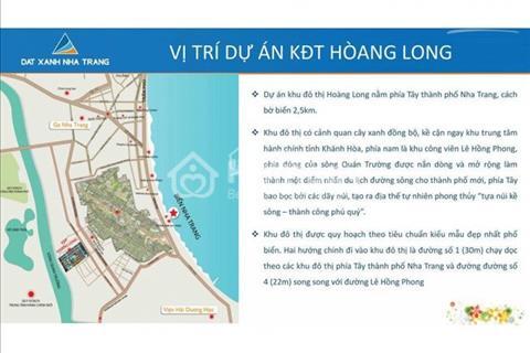Bán đất nền khu đô thị Hoàng Long, Nha Trang, Khánh Hòa