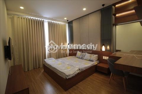 Căn hộ 2 phòng ngủ diện tích 86 m2 tầng cao view sông  dự án Tropic Garden cho thuê
