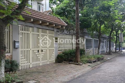 Cho thuê biệt thự đẹp Yên Hòa 230 m2 x 4 tầng, căn góc