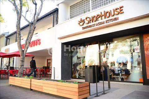 Kẹt tiền bán gấp căn Shophouse đường Nguyễn Hữu Thọ, giáp Phú Mỹ Hưng, Quận 7, 180 m2, 1 trệt