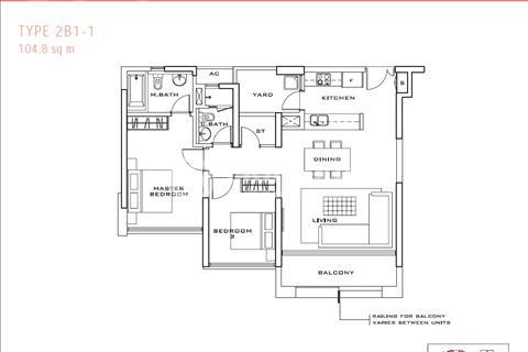 Bán Estella 104 m2, 2 phòng nủ, view Bitexco, sổ hồng chính chủ, để lại nội thất