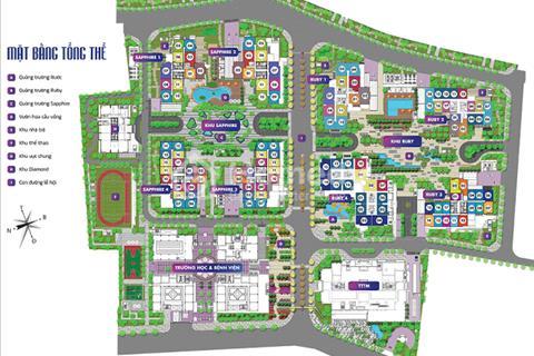 Bán chung cư Goldmark City, 1617, 83,46 m2-G2 và 1510, 138,68 m2-R1, giá 24 triệu/m2.