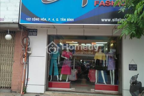 Cho thuê nhà mặt tiền đường Cao Thắng, Phường 3, Quận 3