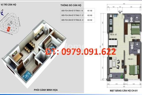 Chính chủ bán căn 2201 - 65 m2 tòa B Kim Văn Kim Lũ - Miễn môi giới với bất kỳ hình thức nào