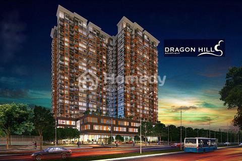 Cần cho thuê gấp căn hộ cao cấp Dragon Hill, 2 phòng ngủ, diện tích 67m2, 10 triệu/tháng