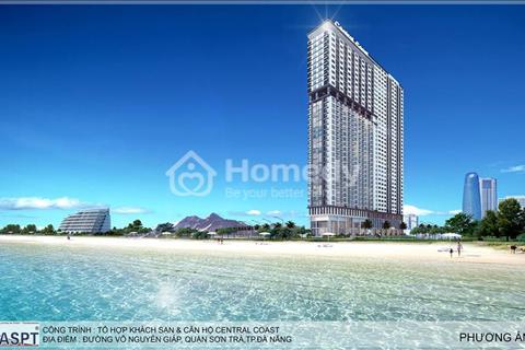 Ra hàng tầng cao Tổ hợp căn hộ và khách sạn Central Coast mặt biển Đà Nẵng