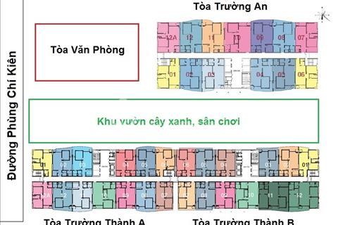 Chính chủ cần bán gấp căn hộ 18-05 chung cư Tràng An Complex, diện tích: 93,6 m2, giá 32 triệu/m2.