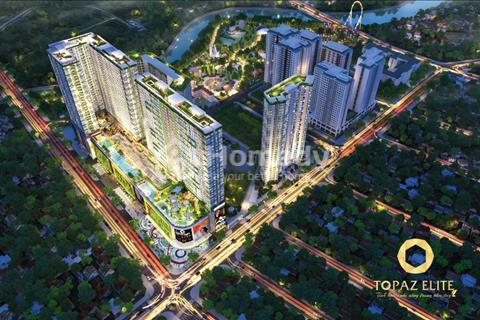 Nhận Đặt Chỗ Topaz Elite 22 triệu/m2, 3 mặt tiền đường Tạ Quang Bửu, Cao Lỗ, Nguyễn Thị Thập