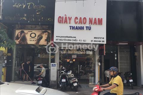 Nhà mặt tiền cho thuê đường Ngô Đức Kế, Phường Bến Nghé, Quận 1.