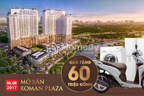 Tổng hợp căn hộ giá rẻ nhất chung cư Roman Plaza